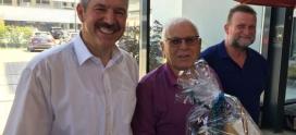 Reiner Schramm feiert 80. Geburtstag